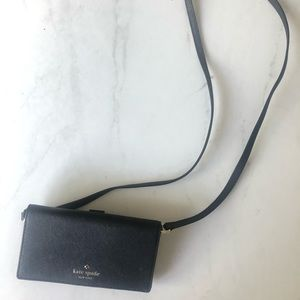 Kate Spade cellphone and wallet crossbody bag